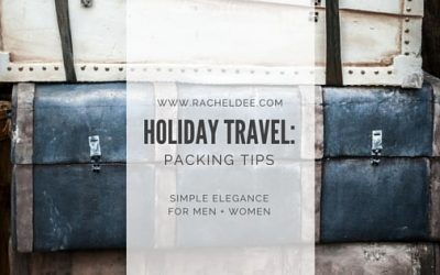 Suitcase Packing Extreme: Holiday Travel Tips